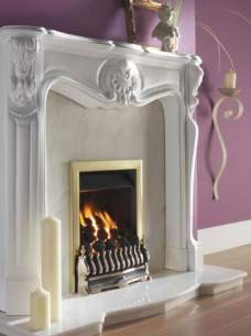 Flavel Gas Fires -  Flavel Richmond Mc Gas Fire Ng Brass