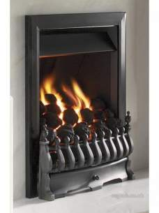 Flavel Gas Fires -  Flavel Richmond Mc Gas Fire Ng Black