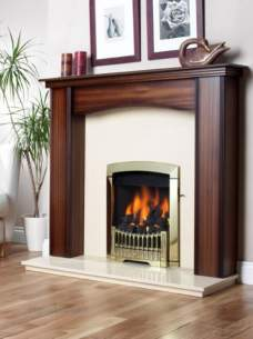 Flavel Gas Fires -  Flavel Rhapsody Gas Fire Lpg Black