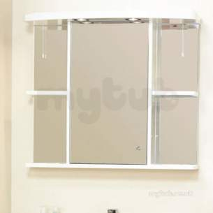 Eastbrook Accessories -  1.401 80cm Cabinet Mirror No Cornice