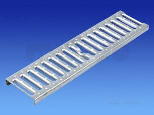 Channel Drainage -  Slotted Grate Reinforced Ss 1.0m