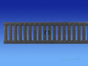 Channel Drainage -  Wavin Slotted Grate C.i. Inlay-0.5m