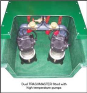 Jung Pumpen Pumps -  676 Trashmaster Floor Mtd With Pumps 1ph