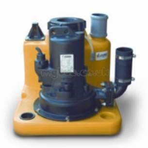 Jung Pumpen Pumps -  Compli 125/2/m Pack Sewage Grinder 3ph
