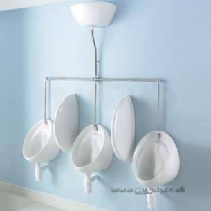 Armitage Shanks Commercial Sanitaryware -  Armitage Shanks S611701 Sanura Hygeniq Urinal 40cm White