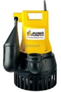 Jung Pumpen Pumps -  Jung U5ks Sump Pump Automatic 1ph-special