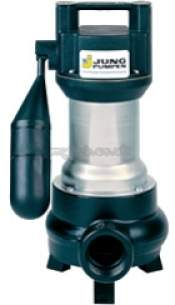 Jung Pumpen Pumps -  Us75es 50mm Free Pass Sump Pump Auto 3ph