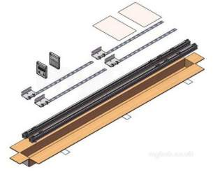 Kingspan Evacuated Tube Solar Heating -  Kingspan T/max Sloping Roof Kit Vertical
