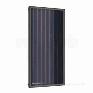 Kingspan Flat Plate Solar Heating -  Kingspan Cls1808 On Roof Bracket Single