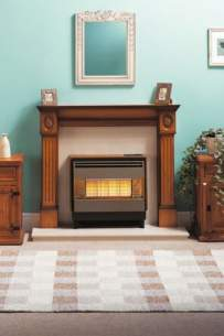 Robinson Willey Gas Fires and Wall Heaters -  R W Firegem Visa D/l Highline Teak Ng