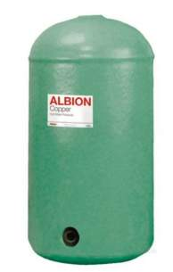 Albion Copper Cylinders -  Albion 1200 X 450 Direct G3 Cyl Foamed L1b