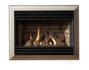 Valor Gas Fires and Wall Heaters -  Valor Homeflame Eminence Champagne Ng