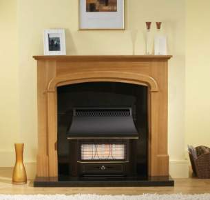 Valor Gas Fires and Wall Heaters -  Valor Black Beauty Radiant Fireslide