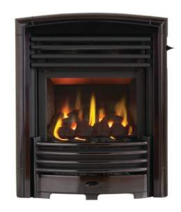 Valor Gas Fires and Wall Heaters -  Valor H/flame Petrus Silver Chr Gas Fire