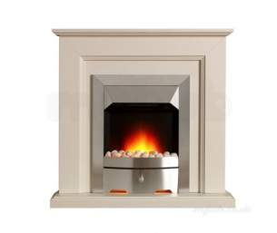 Valor Electric Fires -  Valor Carlton Longlite Suite Chr/stone