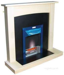 Valor Electric Fires -  Valor Teviot L-lite 18 Inch Hth Suite Ch/map