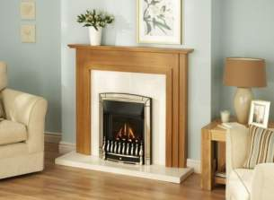 Valor Gas Fires and Wall Heaters -  Valor Dream Balanced Flue Fire Gold