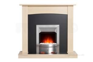 Valor Electric Fires -  Valor Teviot Maple Effect Electric Suite