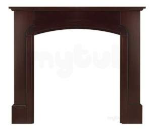 Valor Electric Fires -  Valor Calista Mantel Mahogany Finish