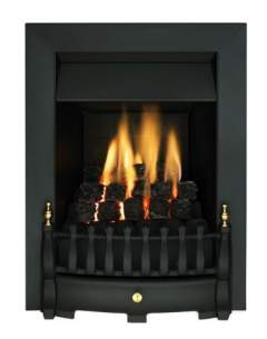 Valor Gas Fires and Wall Heaters -  Valor Blenheim Slimline Gas Fire Black