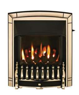 Valor Gas Fires and Wall Heaters -  Valor Homeflame Dream Ng He Fire Gold