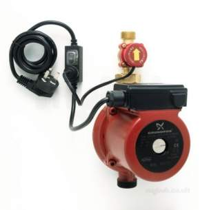 Grundfos Domestic Circulating Pumps -  Grundfos Upa 15-90 Home Boost Pump 59539509
