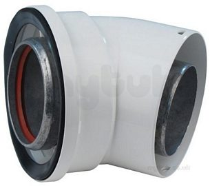 Vokera 416 Na 45 Degree Flue Elbow