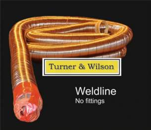 Turner and Wilson Flueliner and Packs -  T And W 5 Inch 125mm Flue Liner Mtr