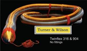 Turner and Wilson Flueliner and Packs -  T And W Twinflex 904 Multifuel 6 Inch Liner M