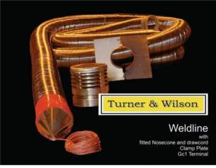 Turner and Wilson Flueliner and Packs -  T And W 5 Inch 125mm 10m F/l Pack Inc Ftgs