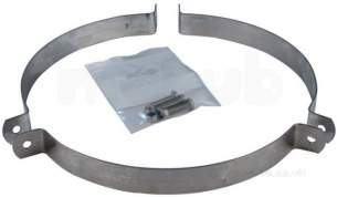 SFL Smw Sm Smz Chimney Flue -  Sfl Smw 8 Inch Guy Wire Bracket 0209208