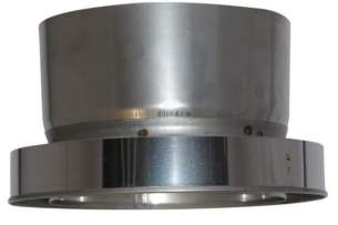 SFL Smw Sm Smz Chimney Flue -  Sfl Smw 6 Inch Adaptor To Flexible 50106