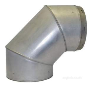 SFL Qc Chimney Flue -  Sfl Qc 7 Inch 90d Fixed Elbow 0822107