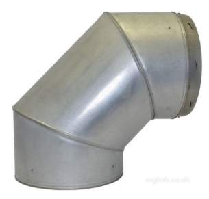 SFL Qc Chimney Flue -  Sfl Qc 8 Inch 90d Fixed Elbow 0822108
