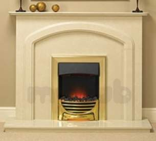 Baxi Gas Fires and Wall Heaters -  Valor Decadent Coal Elec Fire Brass