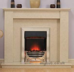 Baxi Gas Fires and Wall Heaters -  Valor Decadent Coal Elec Fire Chrome