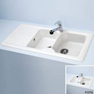 Armitage Shanks Commercial Sanitaryware -  Armitage Shanks Ceramas 1130 X 500 X 190mm 1 7b Sink And Drn Wh Special
