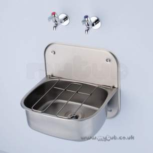 Armitage Shanks Commercial Sanitaryware -  Armitage Shanks Angus S5910 Cleaner Sink Ss