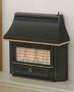 Valor Gas Fires and Wall Heaters -  Valor Black Beauty Unigas Bf Gas Fire