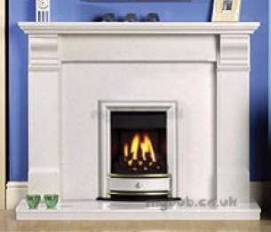 Valor Gas Fires and Wall Heaters -  Valor Seattle Slimline Gas Fire Chrome