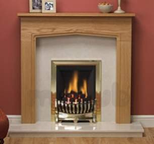 Be Modern Fire Surrounds -  42 Inch Tudor Mantel Natural Oak