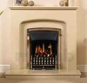 Be Modern Fire Surrounds -  42 Inch Tasmin Micro Marble Surround Manila