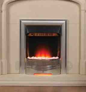 Valor Electric Fires -  Valor Obsession Inset Electric Fire Chrm