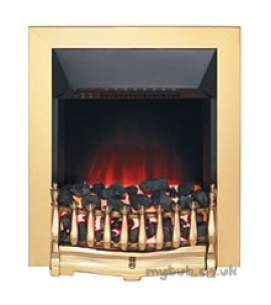 Valor Electric Fires -  Valor Blenheim Electric Fire Brass
