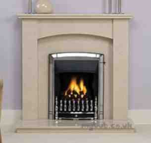 Valor Gas Fires and Wall Heaters -  Valor Dream Slimline Convector Chrome