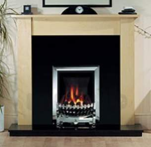 Be Modern Gas Fires -  Be-modern Challenger Four Inset Chrome