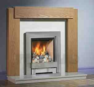 Be Modern Gas Fires -  Be-modern Temptation 180mm Pebble Ss