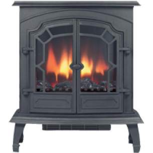 Broseley Multi Fuel Stoves -  Lincoln Electric Black Cast Stove