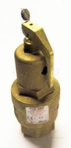 Nabic Safety Valves -  Nabic Safety Valve Fig 500 25mm 2.0 Bar