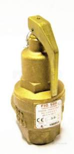 Nabic Safety Valves -  Nabic Safety Valve Fig 500 20mm 3.0 Bar